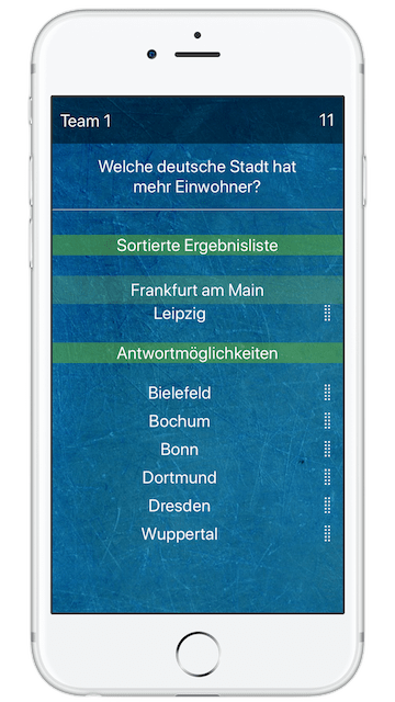 8 Richtige Screenshot